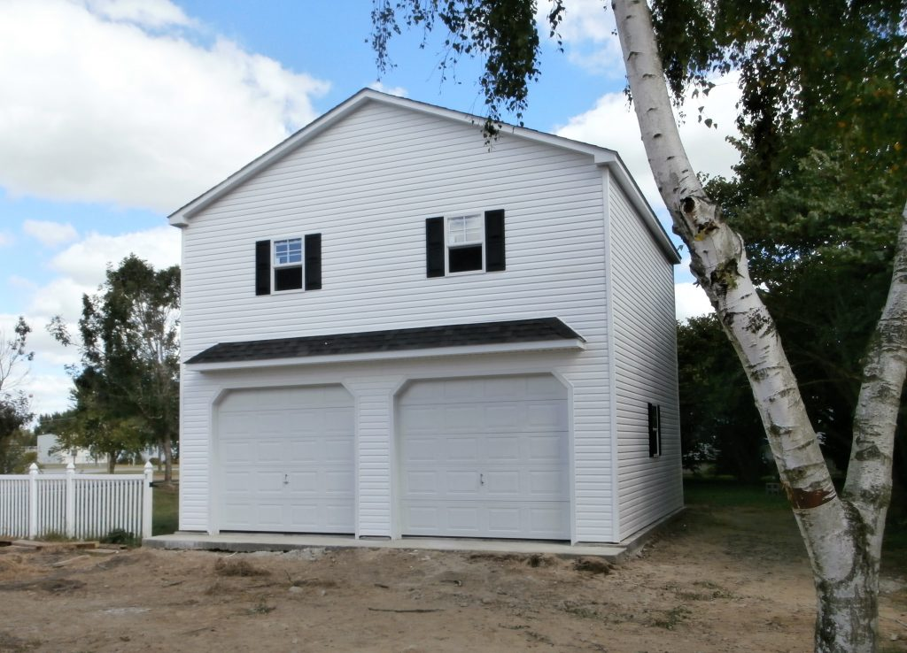 Shop Prefab Garage With Apartment 2 Story Garage With Living Quarters