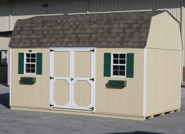 hywall style amish storage shed