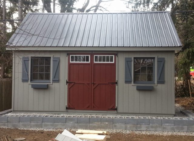 handcrafted luxury storage shed